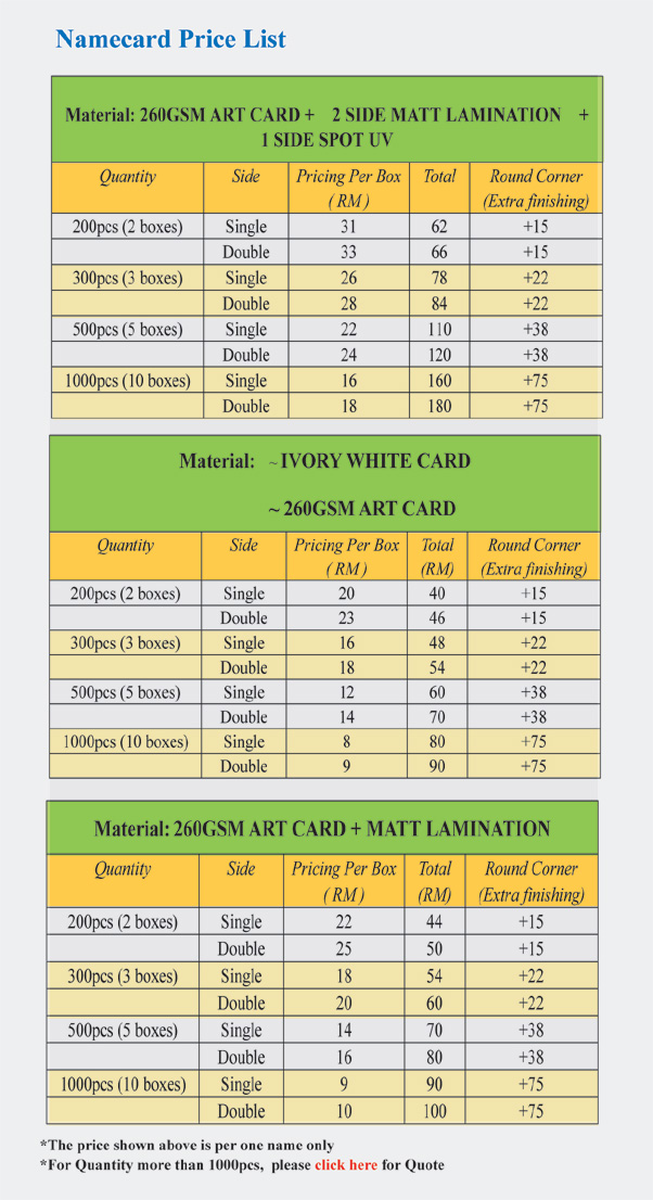 Printing business card malaysia image collections card design and malaysia business card printing price gallery card design and card contemporary business card printing malaysia image reheart Gallery